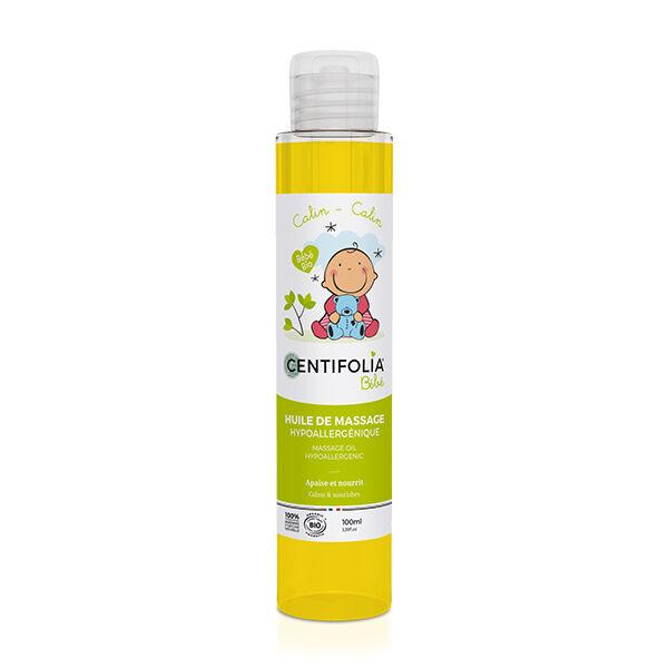 Centifolia Bébé Huile de Massage Hypoallergénique 100ml