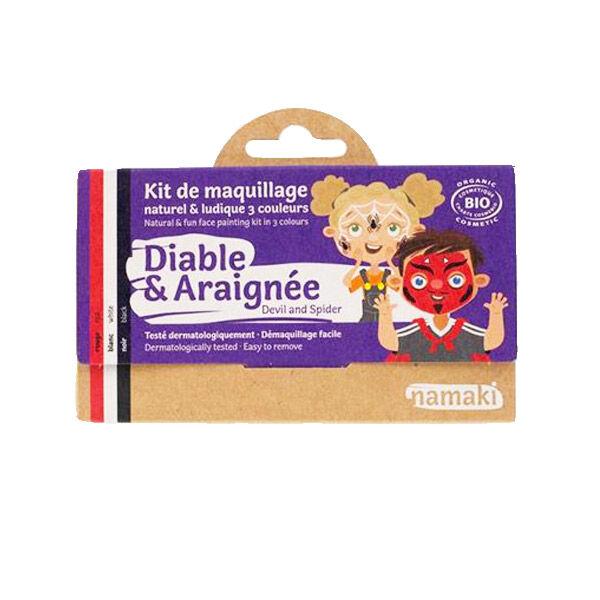 Namaki Kit de Maquillage Bio Diable et Araignée 3 couleurs