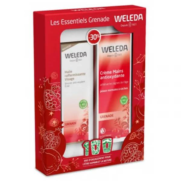 Weleda Grenade Coffret Noël Les Essentiels