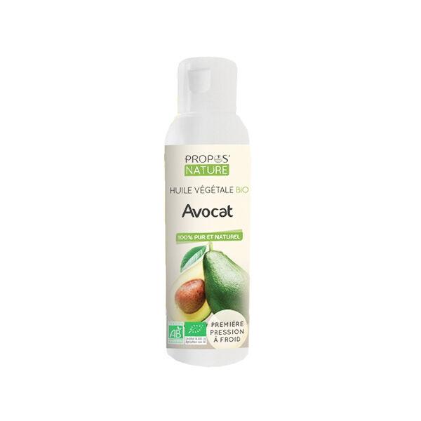 Propos'Nature Huile Végétale Avocat Bio 100ml