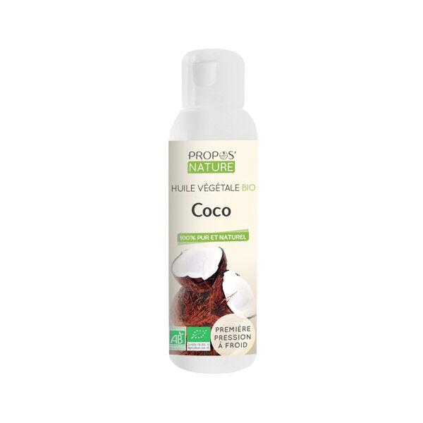 Propos'Nature Propos' Nature Aroma-Phytothérapie Huile Végétale Coco Bio 100ml