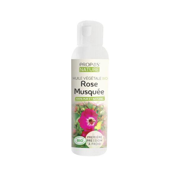 Propos'Nature Huile Végétale Rose Musquée Bio 100ml