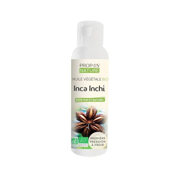 Propos'Nature Propos' Nature Aroma-Phytothérapie Huile Végétale Inca Inchi Bio 100ml