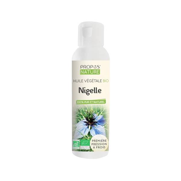 Propos'Nature Propos' Nature Aroma-Phytothérapie Huile Végétale Nigelle Bio 100ml