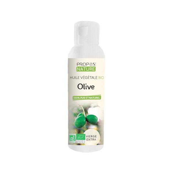 Propos'Nature Huile Végétale Olive Bio 100ml