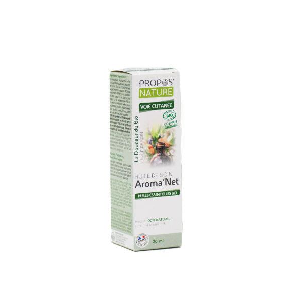 Propos'Nature Propos' Nature Aroma-Phytothérapie Aroma'Net Huile de Soin Voie Cutanée Bio 20ml