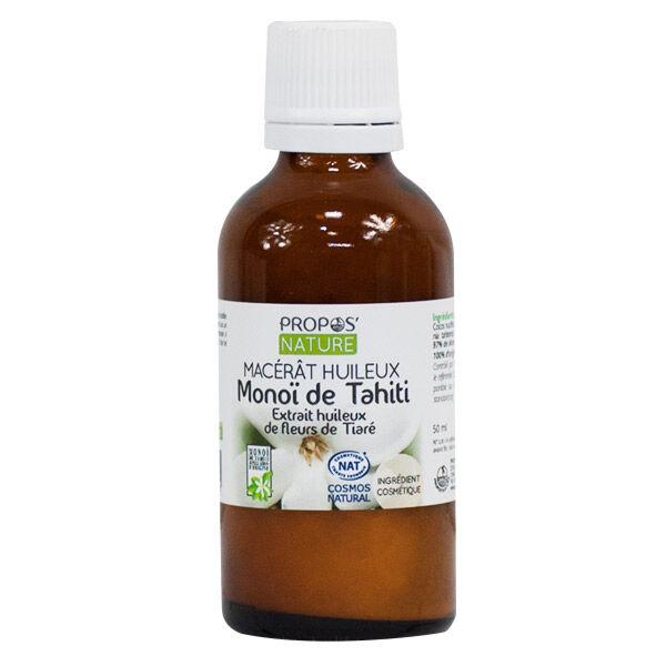 Propos'Nature Propos' Nature Aroma-Phytothérapie Macérât Huileux Monoï de Tahiti 50ml
