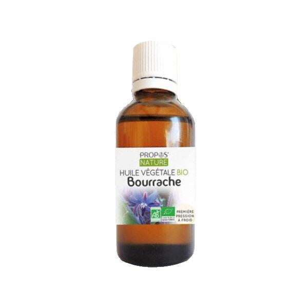 Propos'Nature Propos' Nature Aroma-Phytothérapie Huile Végétale Bourrache Bio 50ml