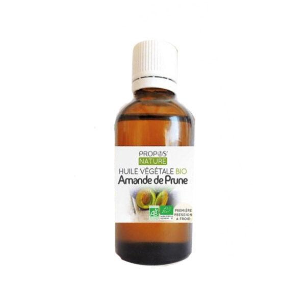 Propos'Nature Propos' Nature Aroma-Phytothérapie Huile Végétale Amande Prune Bio 50ml
