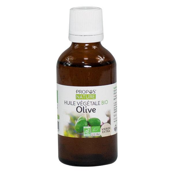 Propos'Nature Huile Végétale Olive Bio 50ml