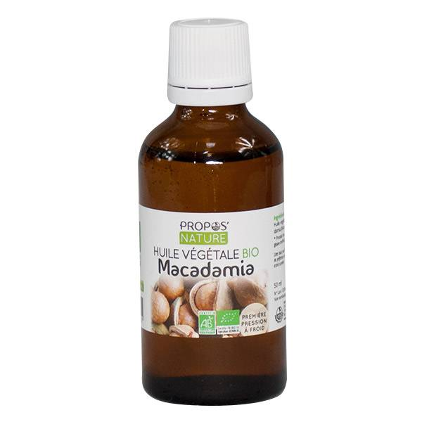 Propos'Nature Huile Végétale Macadamia 50ml