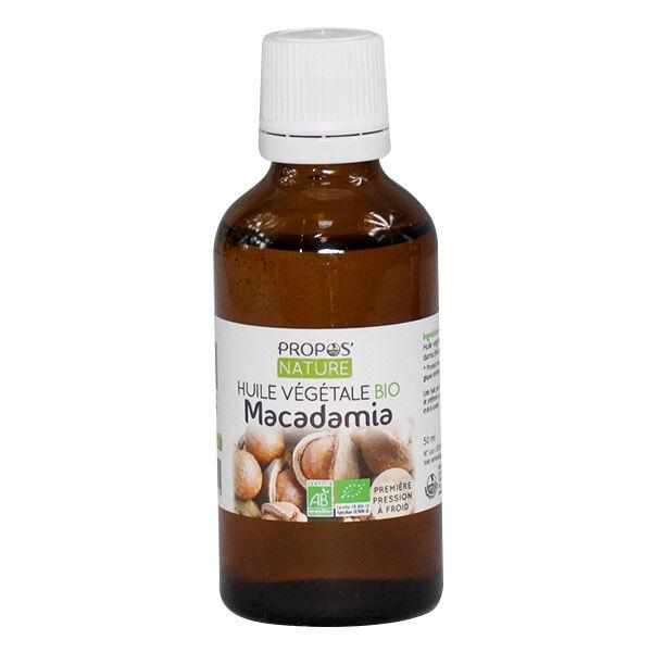 Propos'Nature Propos' Nature Aroma-Phytothérapie Huile Végétale Macadamia Bio 50ml