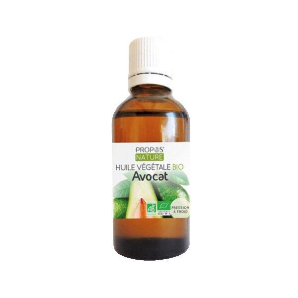 Propos'Nature Propos' Nature Aroma-Phytothérapie Huile Végétale Avocat Bio 50ml