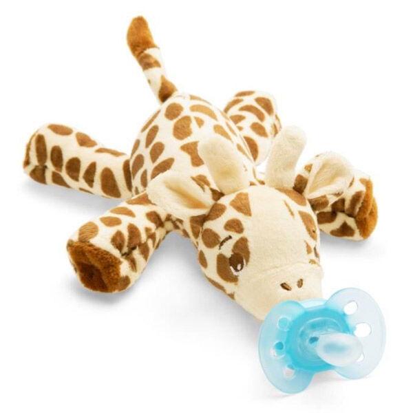 Avent Sucette + Doudou 0-6 Mois Girafe