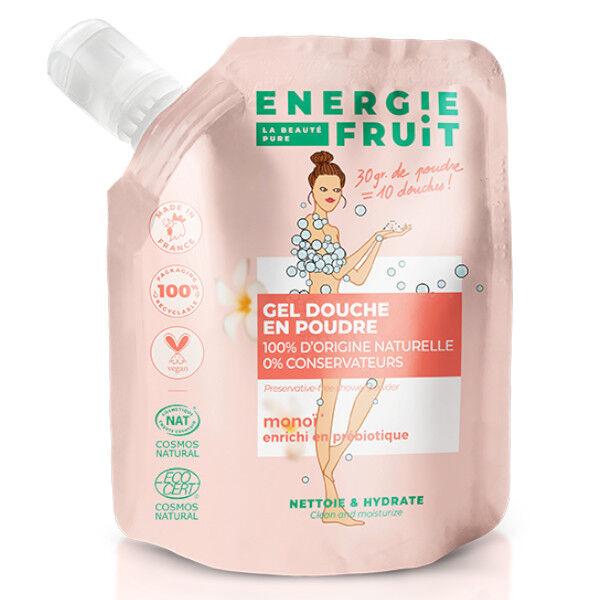 Energie Fruit Gel Douche en Poudre Monoï Bio 30g