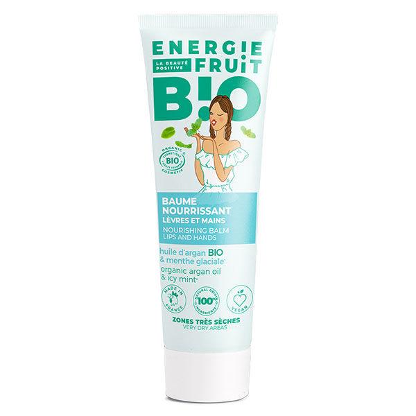 Energie Fruit Mégabalm Soin des Lèvres Pommettes et Mains Menthe Bio 30ml