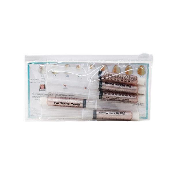White First Gel de Blanchiment Dentaire Saveur Noix de Coco 5 x 10ml