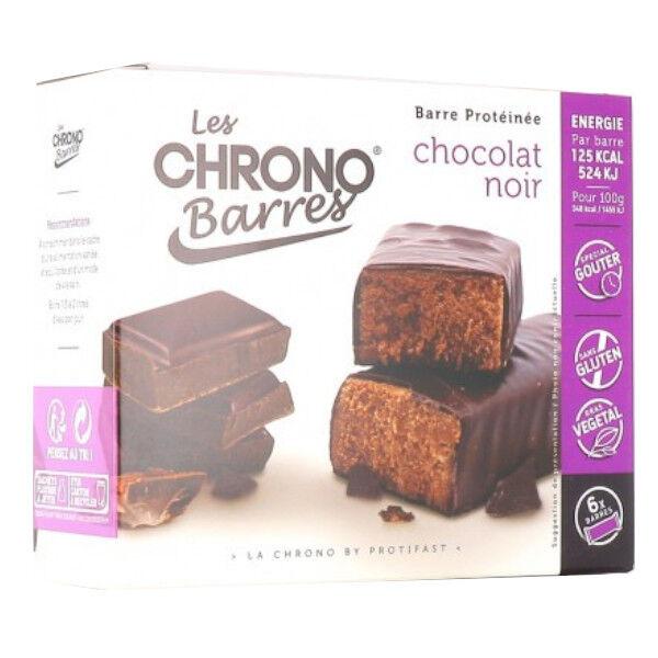 Protifast Chrono-Barres Chocolat Noir 6 Barres