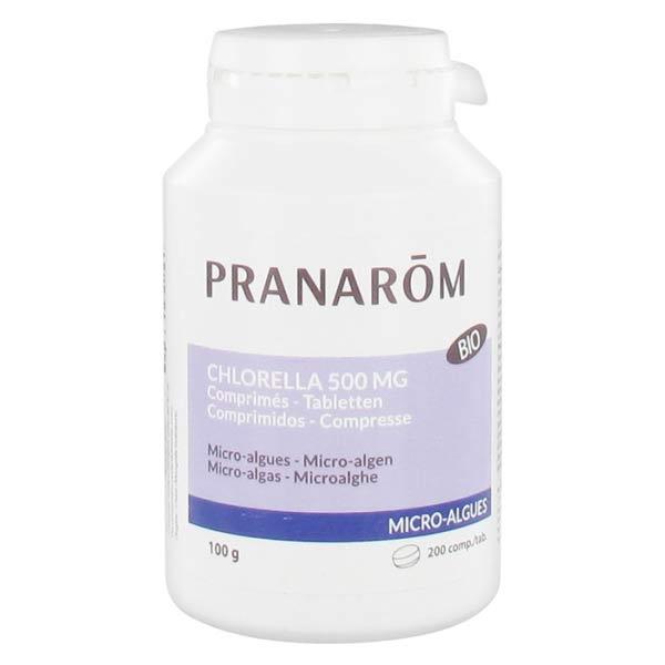 Pranarom Microalgues Chlorella Bio 200 comprimés