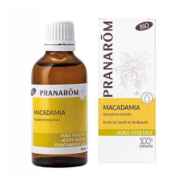 Pranarom Huile Végétale Bio Macadamia 50ml