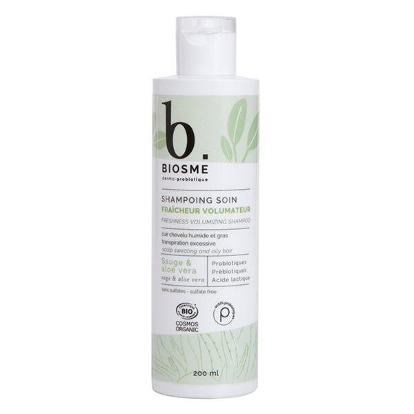 Biosme Daydry Probiotics Fraîcheur Volumateur Shampoing Sauge Aloe Vera 200ml