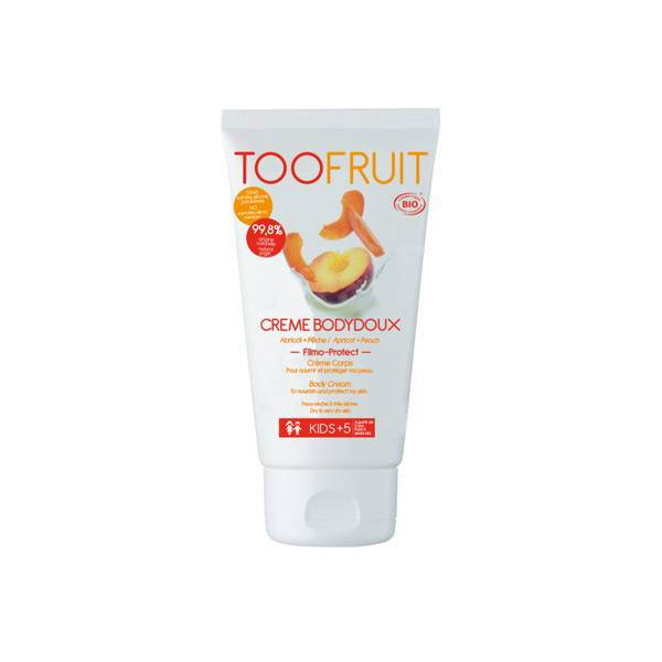Toofruit Crème Bodydoux Crème Corps Abricot Pêche 150ml