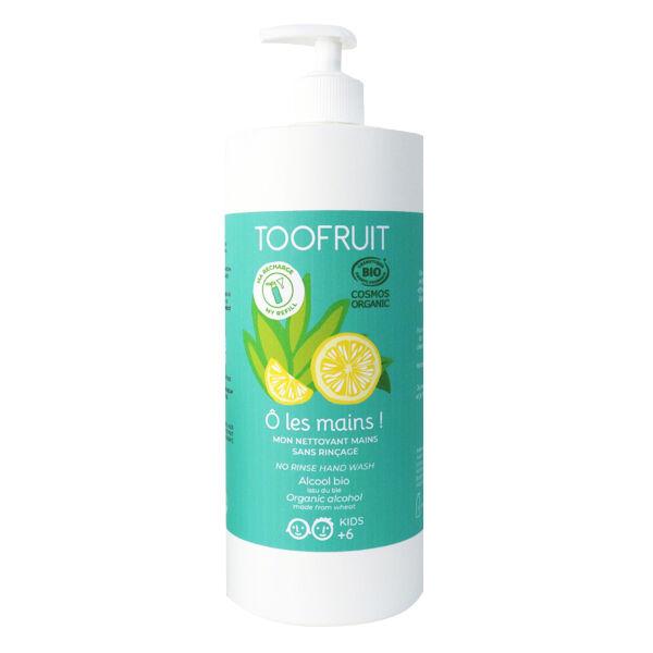 Toofruit Mon Nettoyant Main Sans Rinçage Enfants Citron Aloe Vera 1L