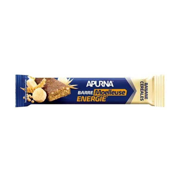 Apurna Barre Energie Moelleuse Céréales Chocolat Banane 40g