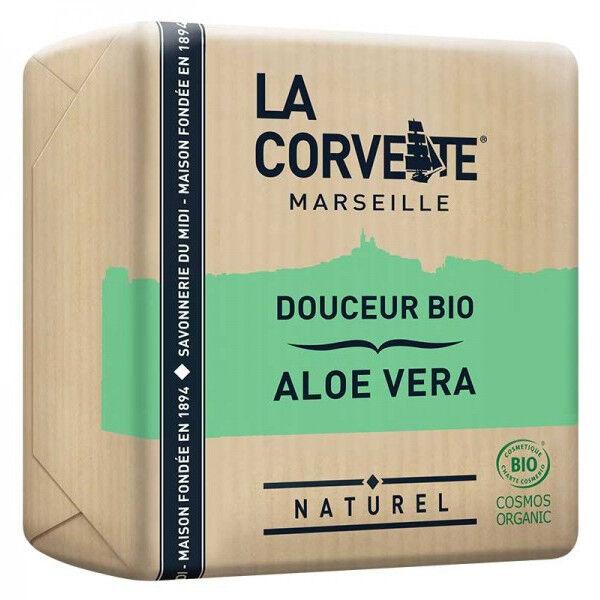 La Corvette Marseille Savon Douceur Bio Aloe Vera 100g