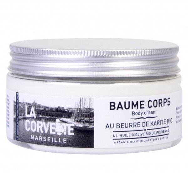 La Corvette Marseille Baume Corps Huile d'Olive et Beurre de Karité bio 200ml