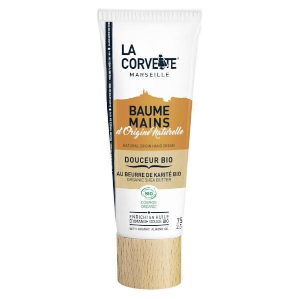 La Corvette Marseille Baume Mains Douceur Bio 75ml