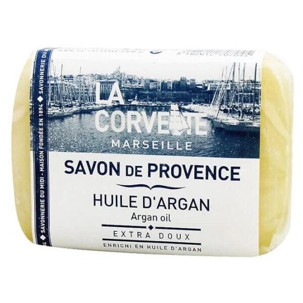 La Corvette Marseille Savon de Provence Huile d'Argan Filmé 100g