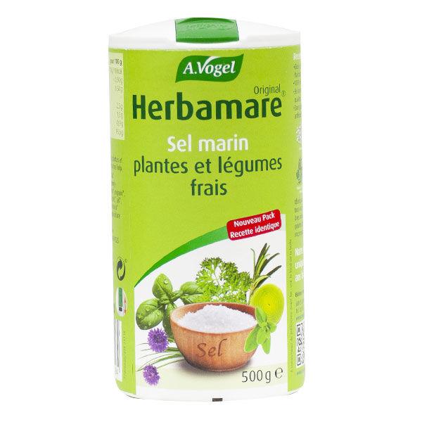 A.Vogel Herbamare Sel Marin Plantes et Légumes Frais Bio 500g