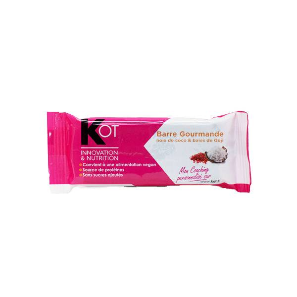 Kot Barre Gourmande Noix de Coco et Baies de Goji 1 unité