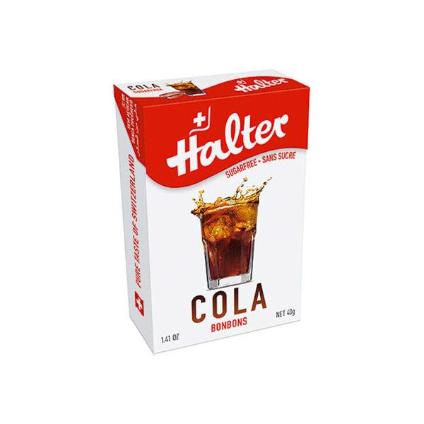 Halter Bonbon Suisse sans Sucre Cola 40g