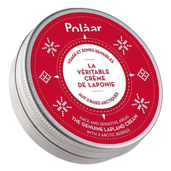 Polaar La Véritable Crème de Laponie Visage et Zones Sensibles aux 3 Baies Arctiques 100ml