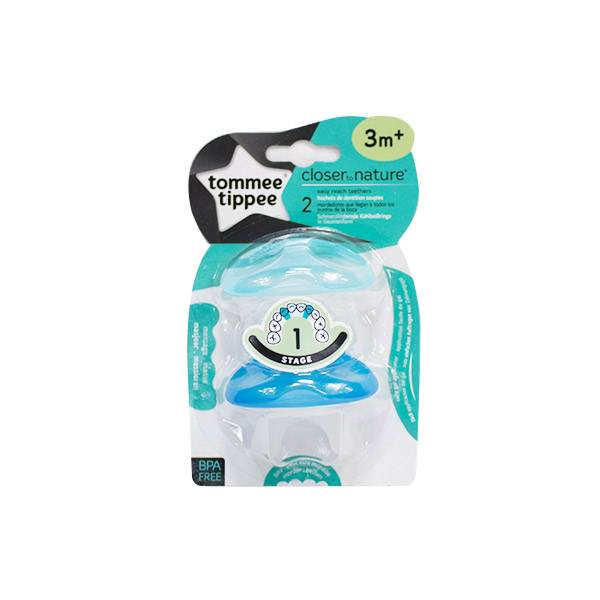 Tommee Tippee Closer To Nature Anneau de Dentition +3m