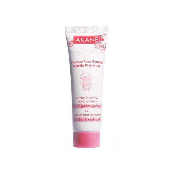 Akane Masque Rose Granité Masque Gommage 2 en 1 Bio 30ml
