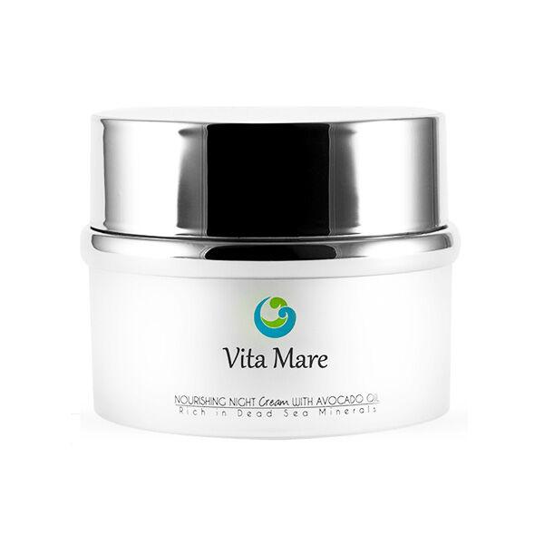 Vita Mare Vita Maré Crème de Nuit Nourrissante à l'Huile d'Avocat 50ml