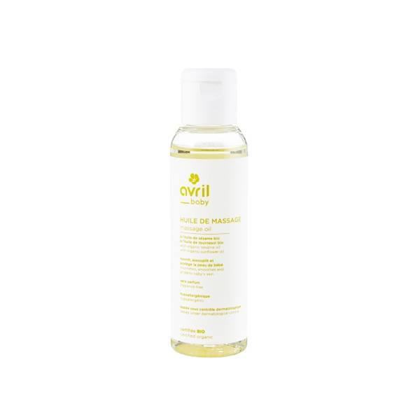 Avril Baby Huile de Massage Bio 100ml