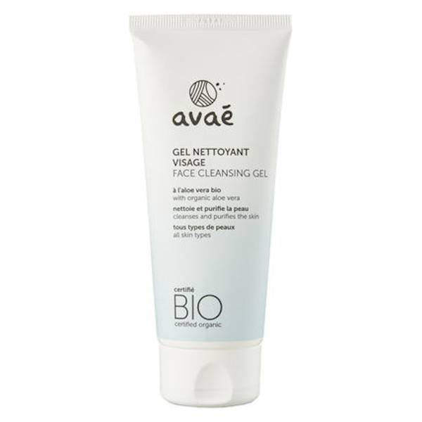 Avaé Gel Nettoyant Visage Bio 100ml