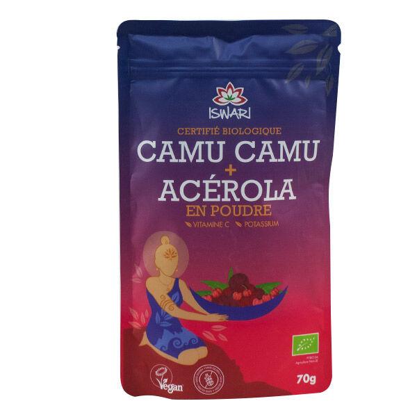 Iswari Camu Camu Acérola en Poudre Bio 70g