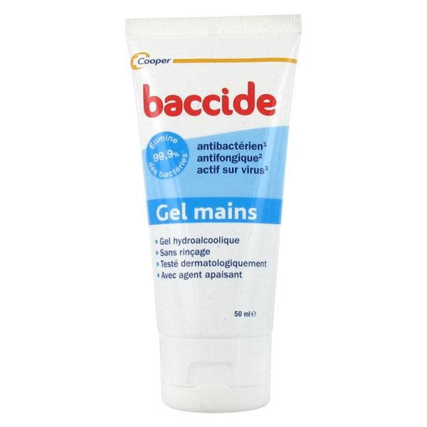 Cooper Baccide Gel Mains Hydroalcoolique 50ml