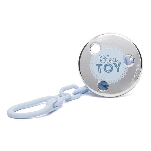 Suavinex Attache Sucette Bijou Bleu Toy