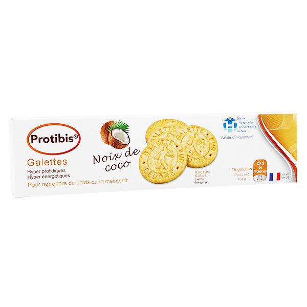 Nutrisens Protibis Galette Noix de Coco 16 unités
