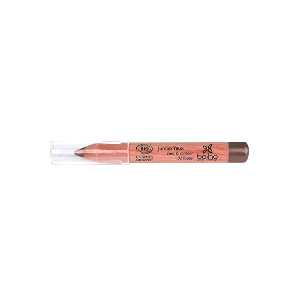 Boho Green Crayon Jumbo Yeux Bio 02 Taupe 1,88g