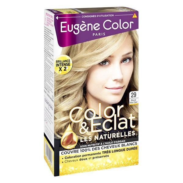 Eugène Color Les Naturelles Crème Colorante Permanente n°29 Blond Très Clair