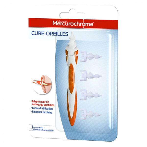 Mercurochrome Cure Oreilles 1 Unité + 5 Embouts Rechargeables