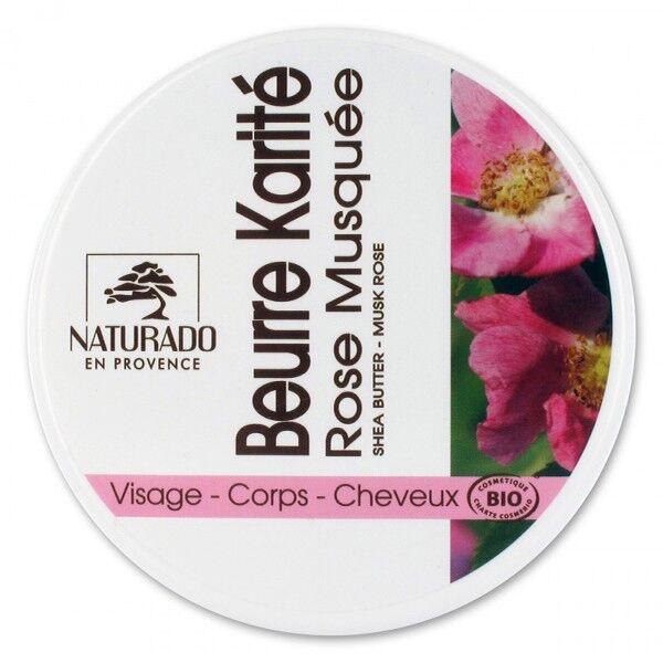 Naturado en Provence Naturado Beurre de Karité Rose Musquée bio 135g