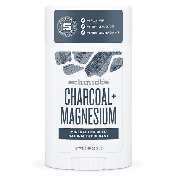 Schmidt's Déodorant Stick Charbon Magnésium 75g